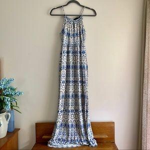 Cynthia Rowley • Ikat Keyhole Maxi Dress
